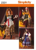 Simplicity Crafts Costumes #2331HH