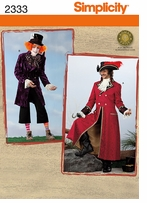 Simplicity Crafts Costumes #2333BB