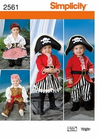 Simplicity Crafts Costumes #2561A