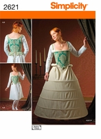 Simplicity Crafts Costumes #2621U5