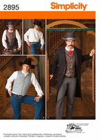 Simplicity Men Costumes #2895BB