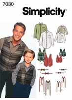 Simplicity Patterns Boys & Mens