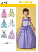 Simplicity Patterns for Girls