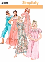 Simplicity Patterns Sleepwear