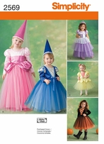 Simplicity Toddler & Child Costumes #2569AA
