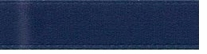 Single Face Satin Ribbon Navy 3/8in x 20yds