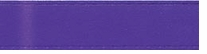 Single Face Satin Ribbon Regal Purple 3/8in x 20yds