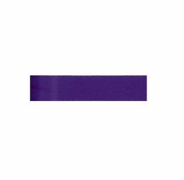Single Face Satin Ribbon Regal Purple 3/8in x 18ft