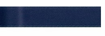 Single Face Satin Ribbon Navy 3/8in x 18ft