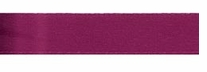Single Face Satin Ribbon Wine 3/8in x 18ft