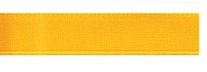 Single Face Satin Ribbon Yellow Gold 3/8in x 18ft