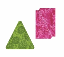 Sizzix Bigz Die Fabi Edition L Die Triangles Isosceles & Right 3.5
