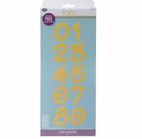 Sizzix Bigz Dies Fabi Edition Lollipop Shadow Numbers 2/Pkg