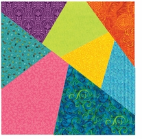 Sizzix Bigz Dies Fabi Edition Pro Crazy Quilt 8in Assembled Square