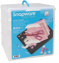 Snap 'n Stack Craft Organizer Large Square 3 Layers