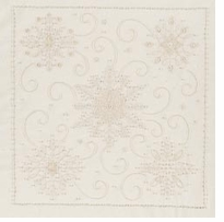 Snowflakes Candlewicking Embroidery Kit