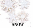 Snowflakes Dress It Up Embellishments Snow!