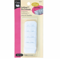 Soft Seal Bra Extender 1 1/4in White