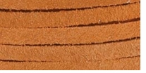 Solid Suede Lace Light Rust 25 Yard Spool