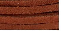 Solid Suede Lace Medium Brown 25 Yard Spool