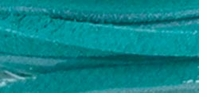 Solid Suede Lace Turquoise 25 Yard Spool