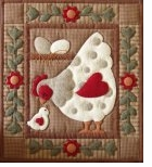 Spotty Hen Quilt Kit