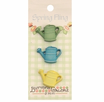 Spring Buttons Watering Can