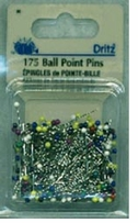 Stainless Ball Point Pins Size 17