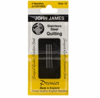 Stainless Steel Quilting Needles Size 10
