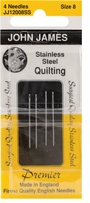Stainless Steel Quilting Needles Size 8