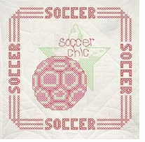 Stamped Quilt Blocks Soccer