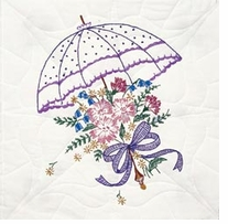 Stamped Quilt Blocks Umbrella