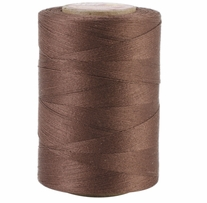 Star Mercerized Cotton Thread Solids Dark Brown 1200yds