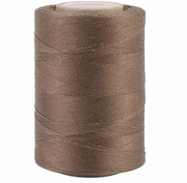 Star Mercerized Cotton Thread Solids Seal Brown 1200yds