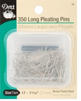 Steel Pleating Pins Size 17