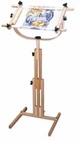 Stitchers Wonder Adjustable Floor Standing Scroll Frame