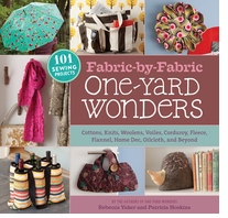 Storey Publishing Fabric-By-Fabric One Yard Wonders