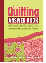 Storey Publishing The Quilting Answer Book