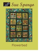 Sue Spargo Books Flowerbed Wall Quilt