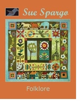 Sue Spargo Books Folklore Wall Quilt