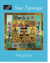 Sue Spargo Books Magnolia Quilt 64inX61in