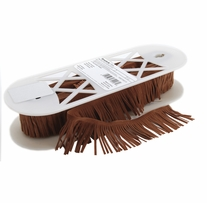 Suede Fringe 2in Tan
