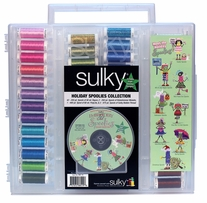 Sulky Original Slimline Holiday Spoolie Collection #2 Asst