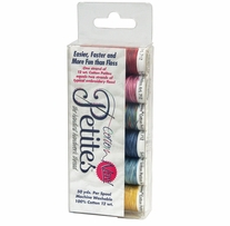 Sulky Sampler 12 Wt. Cotton Petites Six Pack