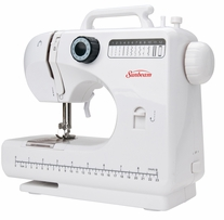 Discount Sewing Notions - Sunbeam 12 Stitch Mini Sewing Machine