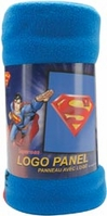 Superman Fleece Panel Logo - Click to enlarge