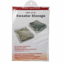 Sweater Storage Bags 2/Pkg