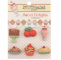 Sweet Delights Buttons A Cherry On Top