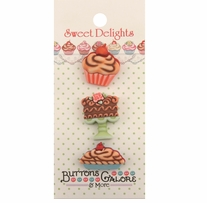 Sweet Delights Buttons Bake Shop
