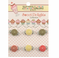 Sweet Delights Buttons Candy Treats